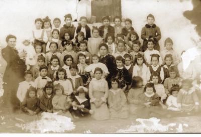 Fiesta del Árbol en Villanueva hacia 1916